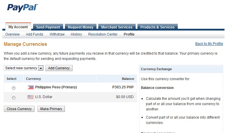 How To Convert Usd Php Paypal Funds Currency Converter